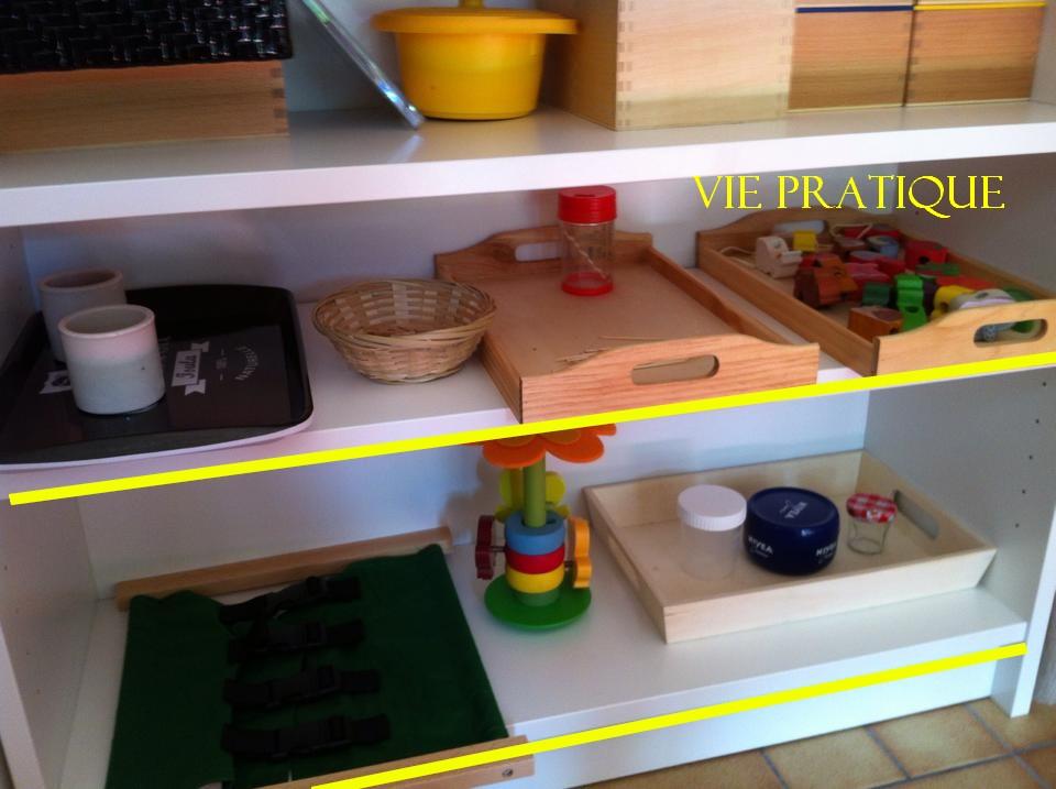 L organisation du coin montessori la maison pour mes 3 enfants d ges diff - Jeux de ranger la maison ...