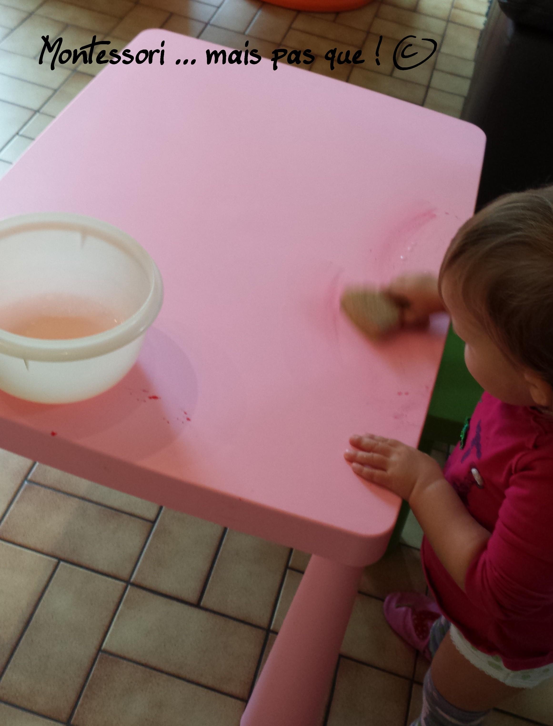 Septembre 2014 montessori mais pas que - Nettoyer table en verre ...
