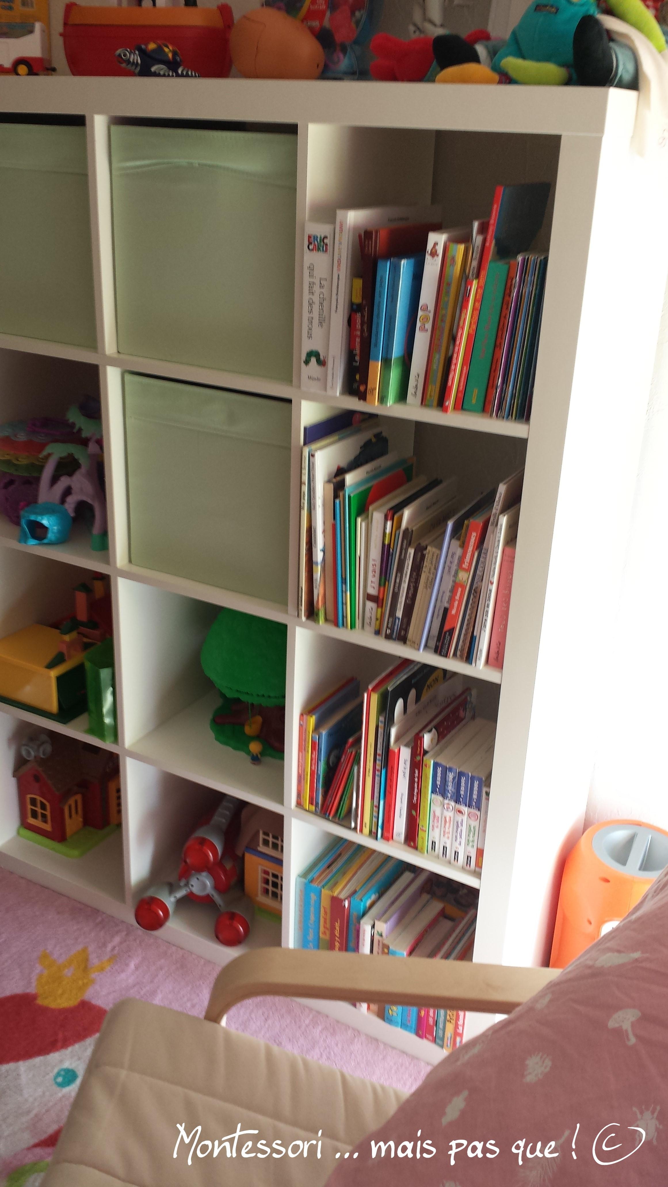 Bibliothèque montessori – montessori … mais pas que !