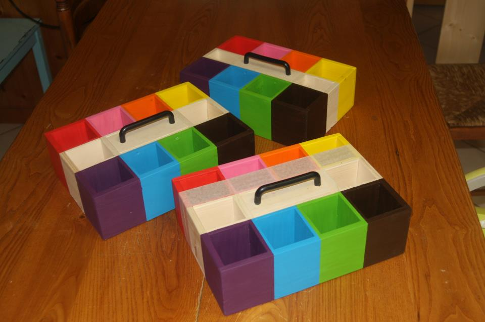Activités autour des couleurs – Montessori … mais pas que