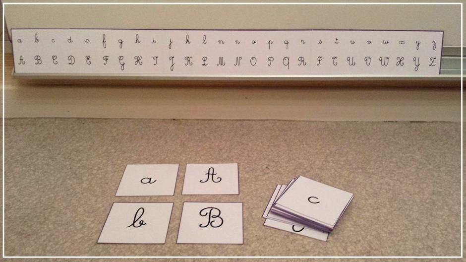 minuscules majuscules