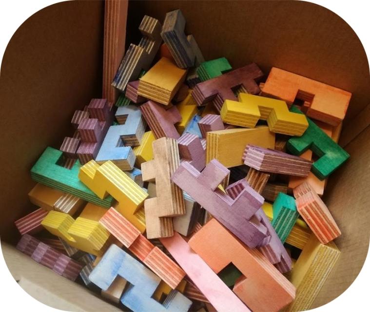 Cloze colorés