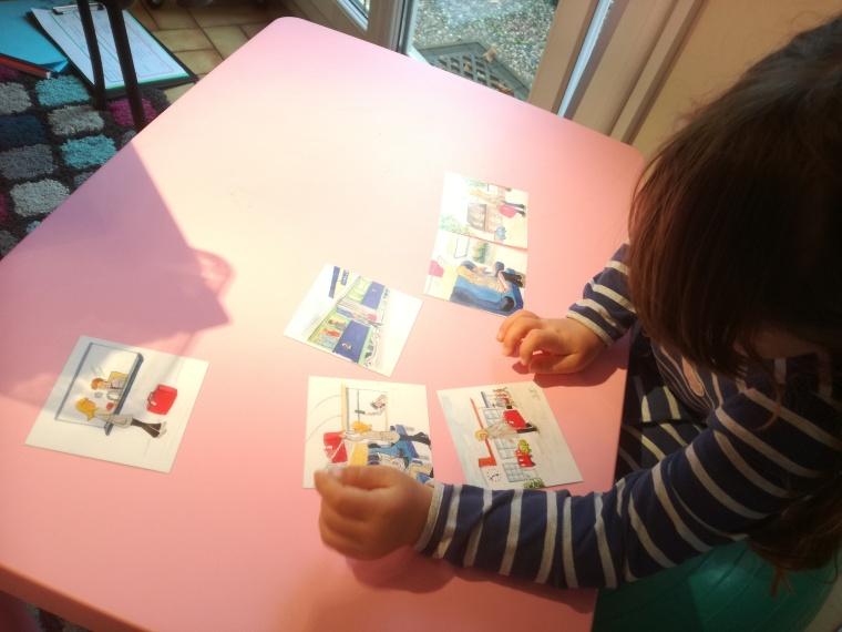Images à raconter 123 Montessori