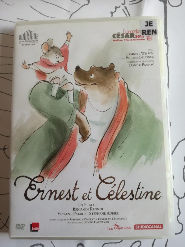 Ernest et Célestine DVD